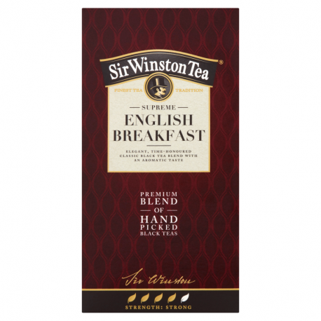 Sir Winston Tea Supreme English Breakfast Herbata czarna 36 g (20 torebek)