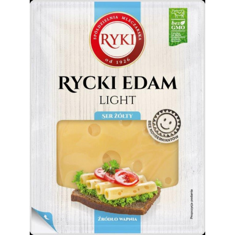 Ser Rycki  Edam Light Plastry 135g