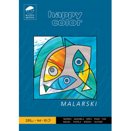 Happy Color Blok Malarski A4 10K