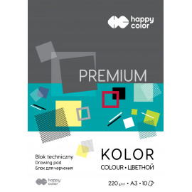 Happy Color BLOK TECH.PREMIUM A3/10K