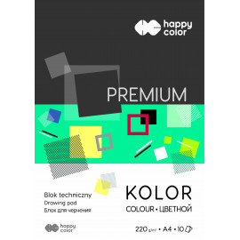 Happy Color BLOK TECH.PREMIUM A4/10K