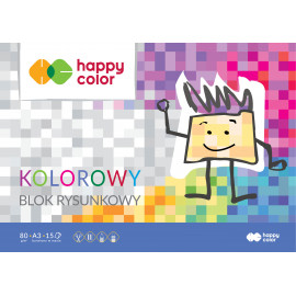 Happy Color BLOK RYSUNKOWY A3/15K KOLOR
