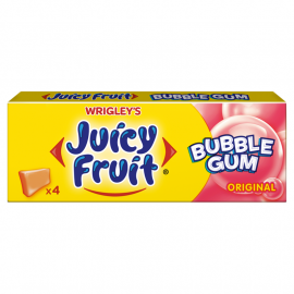Juicy Fruit Bubble Gum Original Guma do żucia 13,8 g (4 kostki)
