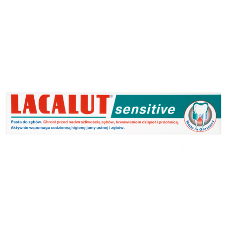 Lacalut Sensitive Pasta do zębów 75 ml