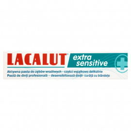 Lacalut Extra sensitive Pasta do zębów 75 ml