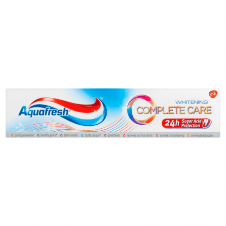 Aquafresh Complete Care Whitening Pasta do zębów 100 ml
