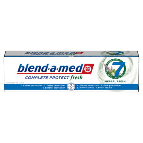Blend-a-med Complete Protect 7 Herbal Fresh Pasta do zębów 100 ml
