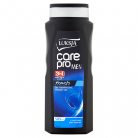 Luksja Care Pro Man Fresh Żel pod prysznic 3w1 500 ml
