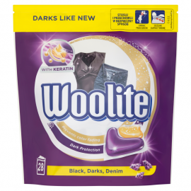 Woolite Black Darks Denim Kapsułki do prania 616 g (28 x 22 g)