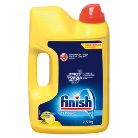 Finish Classic Lemon Proszek do mycia naczyń w zmywarkach 2,5 kg
