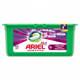 Ariel Allin1 +Complete Fiber Care Kapsułki do prania, 25 prań