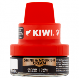 Kiwi Shine & Nourish Cream Krem do obuwia czarny 50 ml