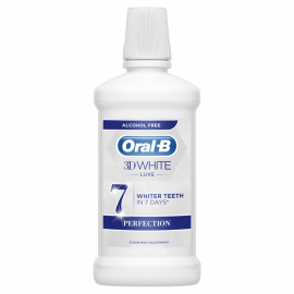 Oral-B 3DWhite Luxe Perfection Płyn do płukania jamy ustnej 500ml
