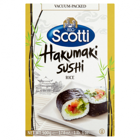 Riso Scotti Ryż Hakumaki do sushi okrągłoziarnisty 500 g