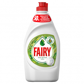 Fairy Clean & Fresh Jabłko Płyn do mycia naczyń 450 ml