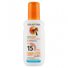 Kolastyna Emulsja do opalania w sprayu SPF 15 150 ml