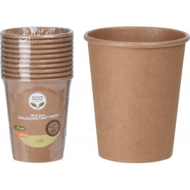 Eco Friendly Kubki 250ml 10szt.