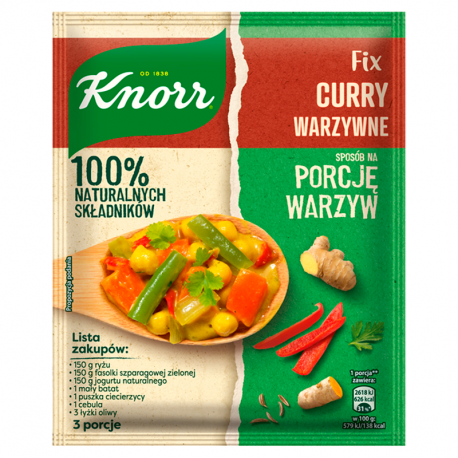 Knorr Fix Curry warzywne 47 g