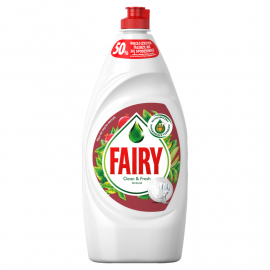 Fairy Clean & Fresh Granat Płyn do mycia naczyń 900 ml