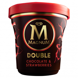Magnum Double Chocolate & Strawberries Lody 440 ml