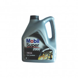 MOBIL SUPER 2000 SEMI-SYNTHETIC 10W40 OLEJ 4L