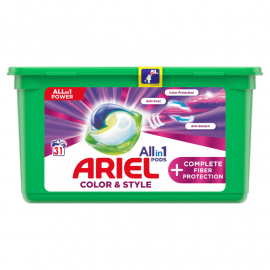 Ariel Allin1 Pods +Complete Fiber Protection Kapsułki do prania, 31 prań