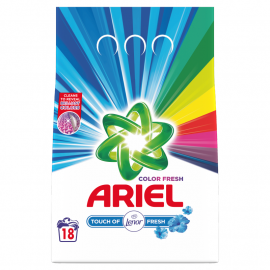 Ariel Touch of Lenor Fresh Color Proszek do prania, 1.35kg, 18 prań