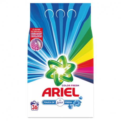 Ariel Touch of Lenor Fresh Color Proszek do prania, 2.7kg, 36 prań