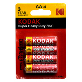Kodak Super Heavy Duty AA 4szt.