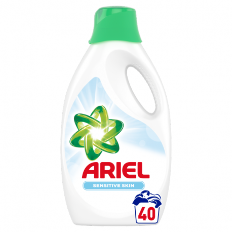 Ariel Sensitive Płyn do prania, 2.2l, 40 prań