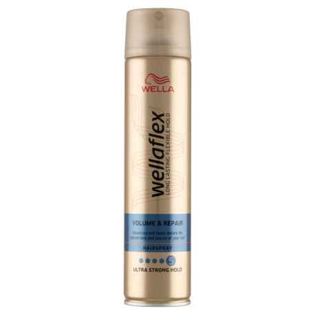 Wella Wellaflex Volume & Repair Lakier do włosów 250 ml