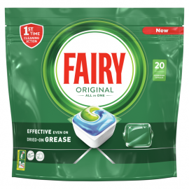 Fairy Original All In One Regular Tabletki do zmywarki, x20
