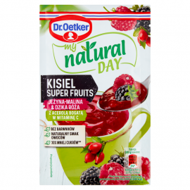 Dr. Oetker My Natural Day Kisiel Super Fruits jeżyna-malina & dzika róża 28 g