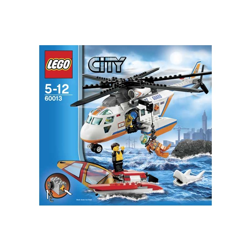 lego city 60013 helikopter stra y po arnej c h e leclerc tomasza zana. Black Bedroom Furniture Sets. Home Design Ideas