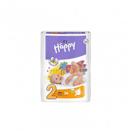 Bella Happy Pieluchy Mini 2  3-6kg 38szt